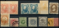 Lot 902 [4 of 5]:Collectors Odds on stockcards incl Curacao, Italian States, Japan, Mexico, Venezuala, etc. A real lucky dip. (100s)