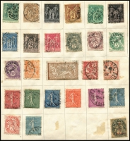 Lot 922 [4 of 7]:World in Strand Stamp Album with useful pickings in European issues incl Austria, Belgium, Denmark, France, Italy, Sweden & Switzerland. Viewing recommended. (100s)