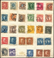 Lot 922 [6 of 7]:World in Strand Stamp Album with useful pickings in European issues incl Austria, Belgium, Denmark, France, Italy, Sweden & Switzerland. Viewing recommended. (100s)
