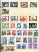 Lot 923 [4 of 21]:World collection in 4 albums with useful Austria, Belgium, China incl some mint Mao period, Czech, France, Germany, Russia, Thailand, etc. Many useful, viewing will reward. (1,000s)