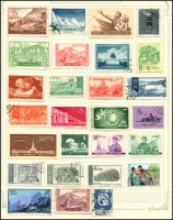 Lot 923 [1 of 21]:World collection in 4 albums with useful Austria, Belgium, China incl some mint Mao period, Czech, France, Germany, Russia, Thailand, etc. Many useful, viewing will reward. (1,000s)