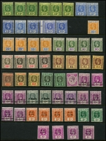 Lot 926 [5 of 5]:World odds and sods in 5 albums noted Cinderella items, Ceylon, Norfolk Island Ball Bay Imprints, USA, etc. Viewing will reward. 6kg (100s)