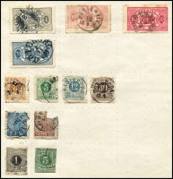 Lot 935 [5 of 6]:World Old Time Array I to Z incl Italy, Japan incl few Revenues, Persia, Turkey, etc. Useful pickings. (100s)