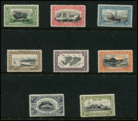Lot 1405 [1 of 3]:KGV selection incl 1912-20 values to 3/-, 1929-37 values to 1/- and 1933 Centenary to 1/-. Useful lot. (29)