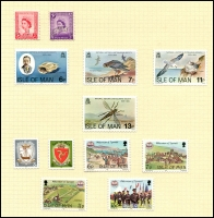 Lot 1655 [4 of 6]:Great Britain & Regionals in large stockbook with range of Jersey, Guernsey, Isle of Man and Ireland, mixed mint and used, plus useful range of GB QV to KEVII much duplication. Viewing will reward. (100s)