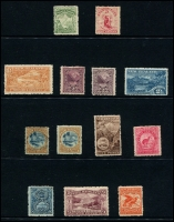 Lot 1777 [4 of 4]:1898-1907 Pictorials collection on Hagners incl 1898 set to 5/-, 1899-1903 values to 5/-, oddments of later issues to 2/-. Condition varies, nice lot. (53)
