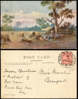Lot 1118 [2 of 5]:Australia 1900s: small bundle with strength in Victoria, few Artist cards, etc. (26)
