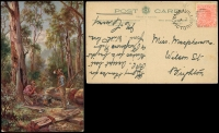 Lot 1118 [3 of 5]:Australia 1900s: small bundle with strength in Victoria, few Artist cards, etc. (26)