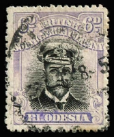 Lot 1347:1913-22 Admirals Double Plates Head Die III Perf 14 Cream Paper 6d black & dull lilac Die IIIA. A very rare stamp.