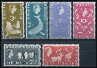 Lot 1452 [3 of 3]:1963-69 Flora & Fauna SG #1-15, set to £1 ultramarine, Cat £190. (15)