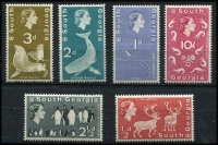 Lot 1452 [1 of 3]:1963-69 Flora & Fauna SG #1-15, set to £1 ultramarine, Cat £190. (15)