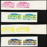 Lot 1036 [2 of 3]:1975 South Pacific Commission Conference range of proofs of both stamps, in pairs. (22)