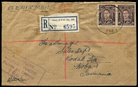Lot 355 [3 of 5]:Field Post Offices 1943-45 annotated collection of postmarks on cover with examples from 148, 149, 150, 152, 153, 154, 156, 157, 160, 161, 162, 164, 164, 166, 167, 168, 170, 174, 180, 186 & 189. A very good range. (32)