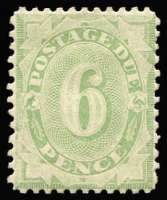 Lot 822 [1 of 2]:1907 Design Completed Wmk Crown/Double Lined A ½d to 6d complete set, BW #D56-60, Cat $1,400+. (5)