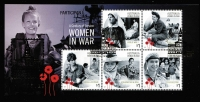 Lot 798:2017 Brisbane Stamp & Coin Show 'PARTICIPANT' overprint on Women in War M/S. Only 35 produced! This is number 6.
