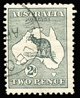 Lot 510:2d Grey with Melbourne 'AP[15]/[13]
