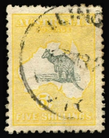 Lot 532 [1 of 2]:Set To 5/- nice group with 3d Die I & II & 2/- both shades, ex 6d chestnut. (10)