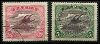Lot 1234 [2 of 3]:1916-31 Bicolours ½d to 10/- set SG #93-105 including 1½d 'POSTACE' variety, Cat £340+. (13)