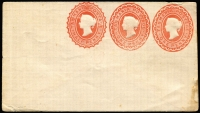 Lot 394 [2 of 9]:Envelopes: ½d+1d+1d x3 different, ½d+½d, 1d x3 different; Wrappers 1d x2 different. All unused. (9)