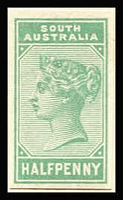 Lot 922 [1 of 2]:UPU Distribution - SA on Lichtenstein pages generally stuck to page with top third of gum, with Chalons imperf/roulette 1d green, 1d yellow-green, 2d rose, 2d orange, 6d dark blue, 6d pale blue, 6d violet, 1/- brown, 1/- yellow & 1/- red-brown, plus perf 6d blue & 1/- red-brown all 'REPRINT' ovpt; PB New Designs imperf/roulette 9d grey, 10d on 9d yellow & 10d on 9d red-orange, perf red 3d on 4d blue, black 3d on 4d blue, 4d deep lilac, 4d purple, 8d on 9d brown, 9d lilac & 2/- carmine all 'REPRINT' ovp; DLR Issues ½d on 1d (red 'REPRINT'), ½d brown bantam, 1d & 2d all 'REPRINT' ovp, plus ½d green Bantam imperf unoverprinted proof. (27)