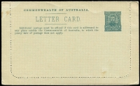 Lot 445 [1 of 6]:1911-12 1d KGV Fullface Perf 10 First Line Ending 'To' on grey unsurfaced stock x3, BW #LC8. Unused x2 (brown - Pineapples & deep blue-green - Mosman's Bay) and used greenish-grey - Sydney Harbour, minor faults (3)