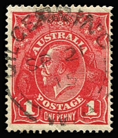 Lot 530 [1 of 7]:1914-22 Accumulation of 1d Reds on smooth, semi-surfaced or rough papers, assembled in 1 large stockbook, no 'OS' perfins were noticed. No attempt has been made to sort them. Wonderful opportunity to find some more interesting shades or postmarks. (c.7,500)