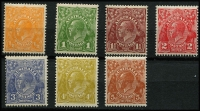 Lot 746 [2 of 2]:½d to 1/4d MUH set, 1/4d MLH. Very fresh. Cat $300+ (8)