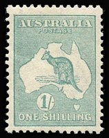 Lot 531 [1 of 2]:2d to 1/- simplified set, all MUH ex 1/-. Centring generally good, fresh strong colours. Cat $1,050. (7)