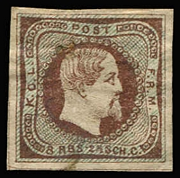 Lot 1382 [1 of 2]:Proofs, Essays & Reproductions 22 different imperf 'stamps'. Interesting group of unknown origin. (23)