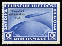 Lot 1484 [2 of 3]:1933 Chicago World Exhibition set of 3, Mi #496-98 2rm & 4rm MUH. (3)