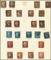 Lot 446 [3 of 6]:1840s-1970s Collection of mainly used definitives, beginning with imperf 1d & 2d Stars and perf 1d Stars, followed by nice range of middle-QV period with many plate numbers to 2/- blue, later QV includes nice 1883 10/- pale ultramarine, usual colour issues with fugitive inks, in later issues noted Re-engraved Seahorses to 10/-, KGVI high values complete, QEII Castles complete sets of 4. Good range of Postage Dues, finishing with some Channel Islands and Regionals. Good range of shades and a few watermark varieties throughout. Minor group of British Commonwealth at end of collection. Useful collection. (100s)