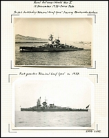 Lot 127 [3 of 5]:1939 Battle of the River Plate A great PPC and photo collection of the men and ships involved in this battle which led to the scuttling of the Graf Spee. Most cards are English or German, noted Uruguay and Falkland Island cards. (35 items)