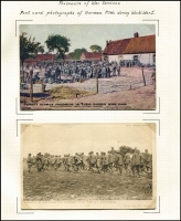 Lot 126 [3 of 8]:Smaller Battles [1] 1914 Falkland Islands Battle 13 cards mostly about the Islands rather than the battle. [2] 1914-18 German POWs 8 cards & photos of POWs, [3] SMS Goeben & Breslau 14 cards including 3 used on the Goeben [4] 1918 Zeebrugge 10 cards. Nice group. (45 items)