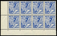 Lot 1603 [1 of 5]:1946 Pictorials SG #484-8,502-4, small study of this interesting issue which was printed by the Note & Stamp Printing Branch in Melbourne on CofA paper. Also the later 3c & 4c Surcharges. Includes four examples used on air covers. (110+)