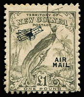 Lot 1306 [1 of 3]:1932 Undated Birds 'AIR MAIL' Ovpts 1d to £1 set SG #190-203, fine used, Cat £250. (16)