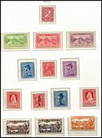 Lot 1364 [3 of 7]:1915-67 Mint Simplified Collection largely complete excluding Postal Fiscals, includes officials etc, nicely housed in Ka-Be hingeless pages. Noted Dunedin set, 2/- & 3/- Admiral and 2/- Admiral Official, Smiling Boys, 1935 Pictorials & Officials, Health Sheetlets from 1957 onwards, 2d on 1½d Stars. Very nice group. Total Cat £1,800+. (100s)