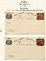 Lot 1486 [3 of 7]:1883-1914 Collection neatly mounted in one volume, mainly mint, significant specialisation with all the overprint types identified and collected, no view cards, otherwise largely complete, includes 1884 5c with sun in black and sun in brown, 1884 3c (green), 1902 2c on 4c '2' with serifs, 1902 2c on 4c indicium in black & red mint & cto, 1906 2c on 4c and 4c on 2c used, 1910 1c on 3c, 1913 2c both Embossed and without embossing, 1914 Bridge. A great collection with many fine and rare items. (c.85)