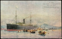 Lot 229 [3 of 4]:P&O Ships: collection of over 25 different cards with minimal duplication. Nice lot. (32)
