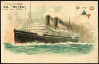 Lot 229 [1 of 4]:P&O Ships: collection of over 25 different cards with minimal duplication. Nice lot. (32)