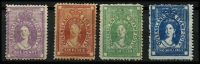 Lot 989 [2 of 2]:1871-72 Stamp Duty Wmk F3a 1d to 2/- & 10/-, SG #F16-19,F22, mint with part og ex 1/- & 2/- which are MNG, Cat £1,715 for mint. (5)