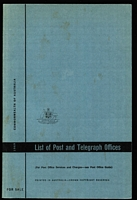 Lot 147:Australia: 1969 List of Post & Telegraph Offices, almost unused. A great resource for the Postal Historian or Pmk Collector. This is the last Australia-wide list produced by the PMG.