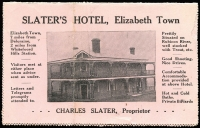 Lot 1000 [2 of 2]:1912 (Nov 17) use of 1d Roo on Slater's Hotel private letter card with nice photo of hotel on back. A few small faults but a scarce early item.