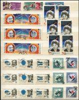Lot 59 [1 of 3]:Russia 1963-65 duplicated complete CTO sets. Strong thematic content incl sport, space etc, generally fine condition. (100s)