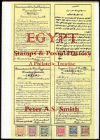 Lot 179:Egypt: Stamps & Postal History A Philatelic Treatise by Peter AS Smith 900+pp, published 199 by James Bendon hardbound with d/jacket.