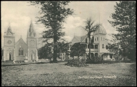 Lot 1863:1911 George II 1d Postal Card HG #2, with black and white view 'The Palace and Chapel, Nukualofa'. Fine unused.