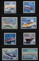 Lot 85 [5 of 7]:British Commonwealth: a huge thematic collection, mainly 1970s to 2018 (a few earlier items are MLH). Sorted in 8 quality Lighthouse & Hagner binders. Topics include Birds (25%), Transport (ships, planes, cars, trains, etc) 60% & Miscellaneous (flowers, military, butterflies, etc) 15%. The collection includes a complete list, with SG numbers, of every item in the collection. Total Catalogue value £7,300+, plus an additional $1,000 for the binders & Hagners. HEAVY LOT  (4,300+)