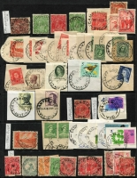 Lot 342 [2 of 7]:C-E Collection: mostly on Hagners with covers, stamps & pieces, organised alphabetically, mainly 1900s onwards with duplication. Noted 1925 Canadian, 1924 Clydebank, 1924 Congupna Town, 1920 Dalmore, 1949 Post Office Elsternwick on telegram, registered Field PO No 2. (1,000s)