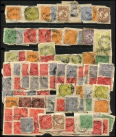 Lot 353 [3 of 7]:A-Z Collection mostly on Hagners with covers, stamps & pieces, organised alphabetically, mainly 1900s onwards with duplication. Noted 1937 Postmaster Cunderdin, very rare 1953 Horseshoe, 1920 Lion Mill, 1954 Yampi cover. Plus a range of numeral cancels. (1,000s)