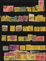 Lot 353 [1 of 7]:A-Z Collection mostly on Hagners with covers, stamps & pieces, organised alphabetically, mainly 1900s onwards with duplication. Noted 1937 Postmaster Cunderdin, very rare 1953 Horseshoe, 1920 Lion Mill, 1954 Yampi cover. Plus a range of numeral cancels. (1,000s)
