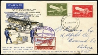Lot 847 [4 of 4]:Grant (Leslie) 1954-64 Special Event group of covers addressed to Quality Postage Stamps or L Grant of Ararat. Includes Macquarie Island, Geebex, French Fair, 1959 Mt Kosciusko etc. No duplication. Plus unrelated 1955 Cocos & 1964 Guillaux with Cinderella attached. (15)